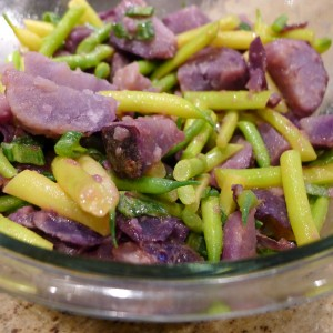 bean and potato salad