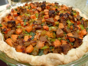 Untopped Vegan Shepher'd Pot Pie