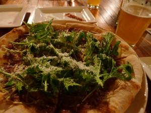 BRU pizza