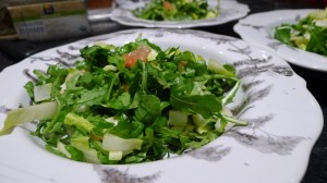 Arugula, Endive, and Grapefruit Salad
